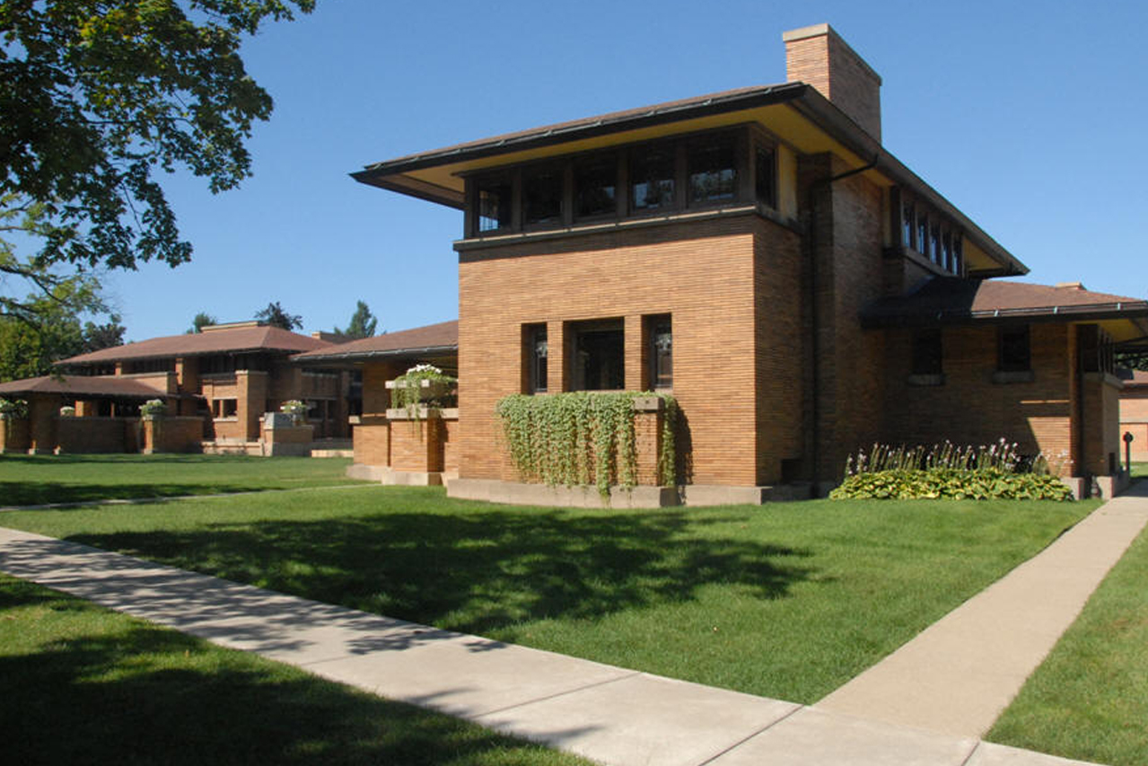 Lloyd Wright- Martin House Complex
