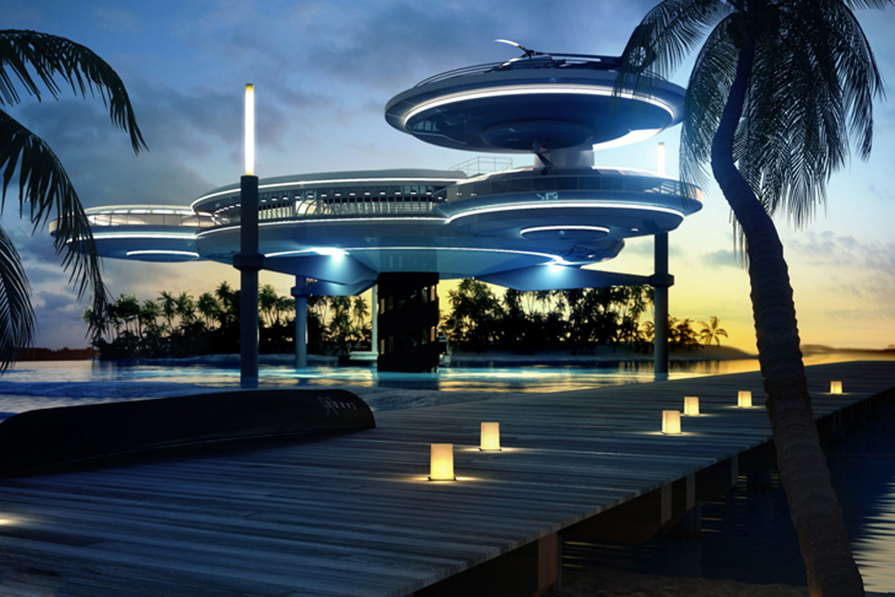WATER DISCUS 'DUBAI'
