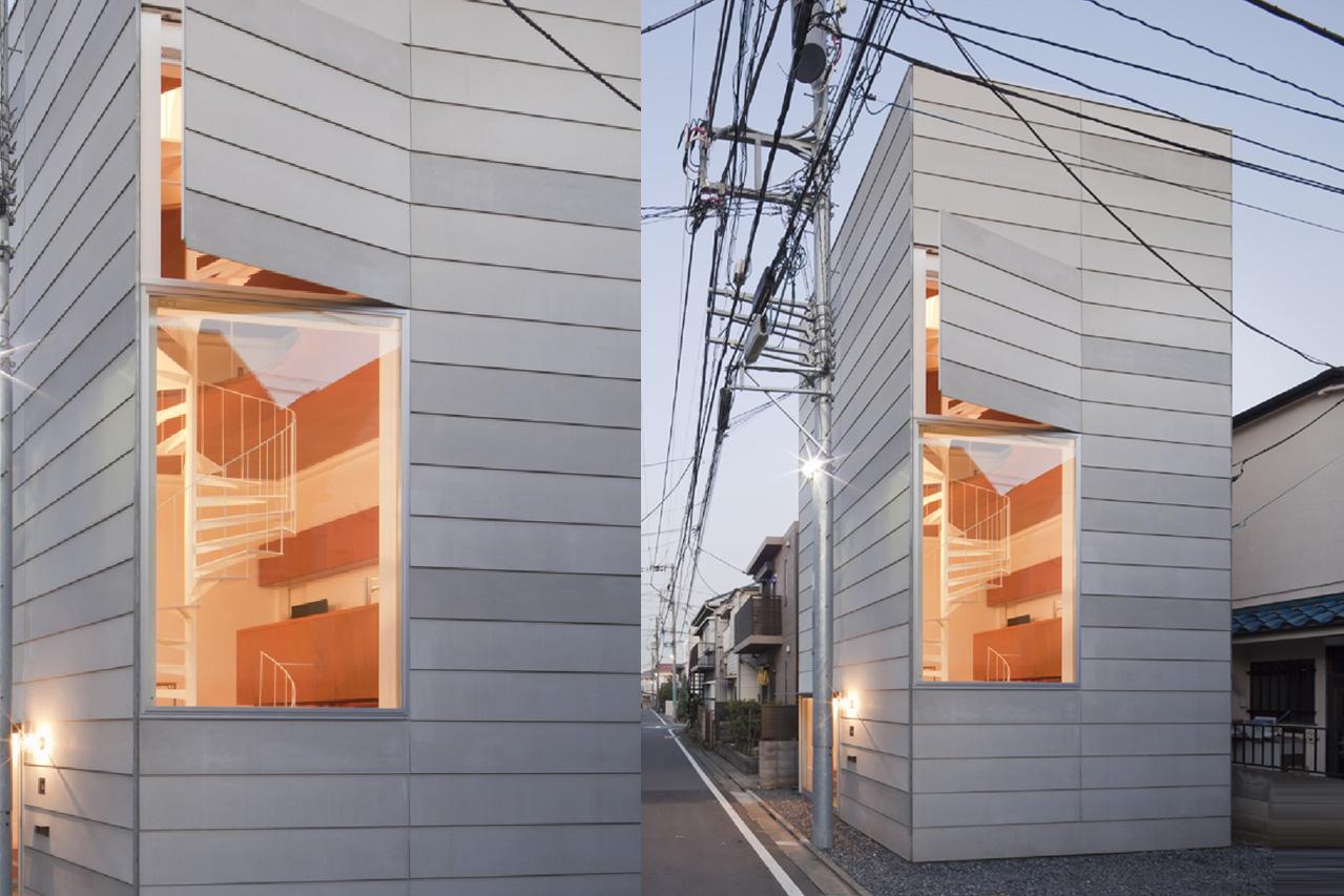 SMALL HOUSE- A house the length of a car!